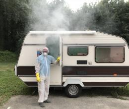 Mike and his Van